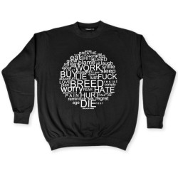 Buy Circle Of Life Black Sweatshirt